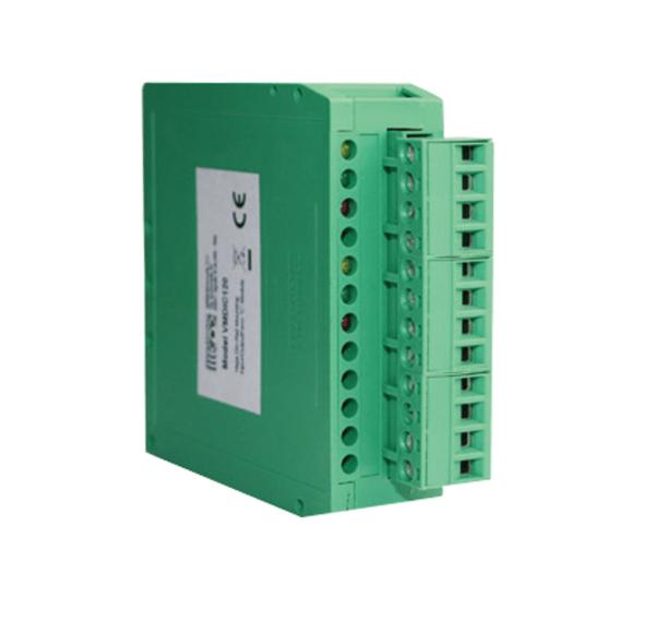 Módulos-DIN-endereçáveis-para-interface-de-dispositivos-em-laço-de-alarme-de-incêndio-FDVMD
