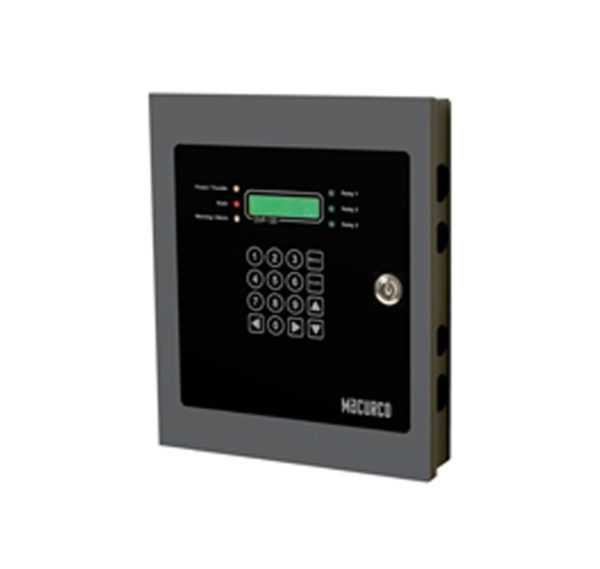 Painel-de-controle-de-detector-de-gás-DVP-120M