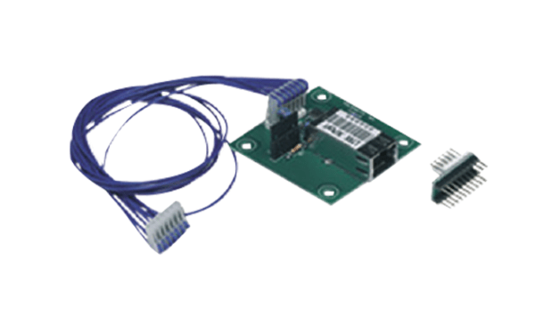 Placa-de-interface-ethernet-PTLAN-para-central-de-alarme-de-incêndio-analógica