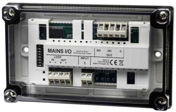 Módulo de alarme de incêndio I/O GFE 117 Endereçável