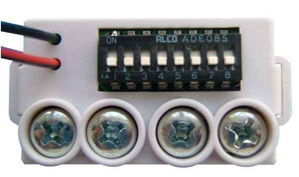 Módulo de endereçamento manual para alarme de incêndio MAM WHITE GFE 101 Endereçável