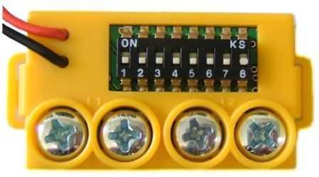 GFE 103 - Módulo de Endereçamento Manual para Alarme de Incêndio - MAM YELLOW