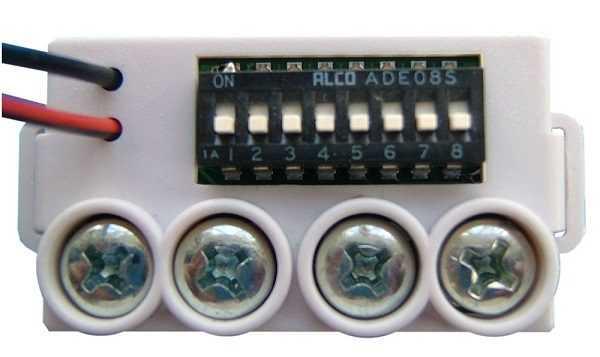 GFE 101 - Módulo de Endereçamento Manual para Alarme de Incêndio - MAM WHITE