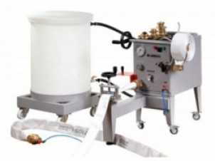 Máquina hidráulica para testes de mangueira de incêndio