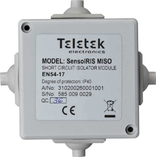 IRIS MISO - Módulo Isolador de Laço de Alarme de Incêndio Endereçáveis