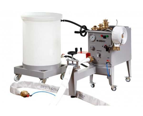 MR040 - Máquina Hidráulica para Testes de Mangueira de Incêndio
