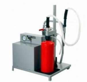 Transferidor de pó químico e acionamento pneumático