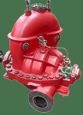 Sentinel - Bomba de Incêndio com Caixa Dividida Horizontal