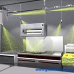 Extinção de incêndio em cozinhas - Sistema saponificante