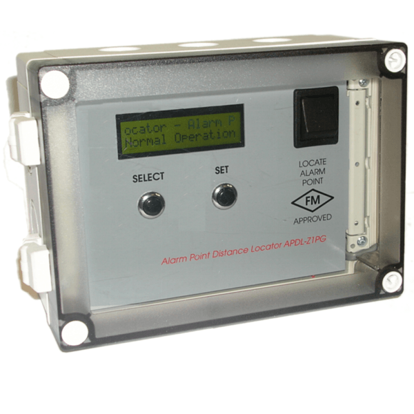(APDL) - Localizador de Distância de Ponto de Alarme Signaline