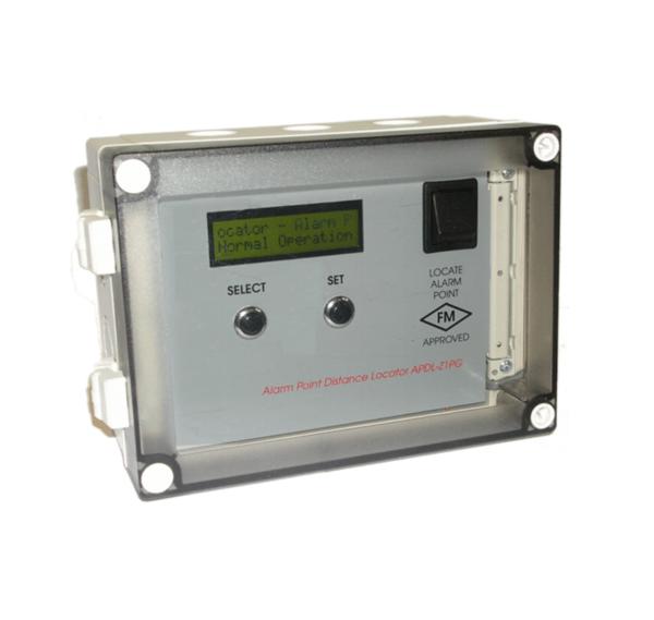Localizador de distância de ponto de alarme Signaline (APDL)
