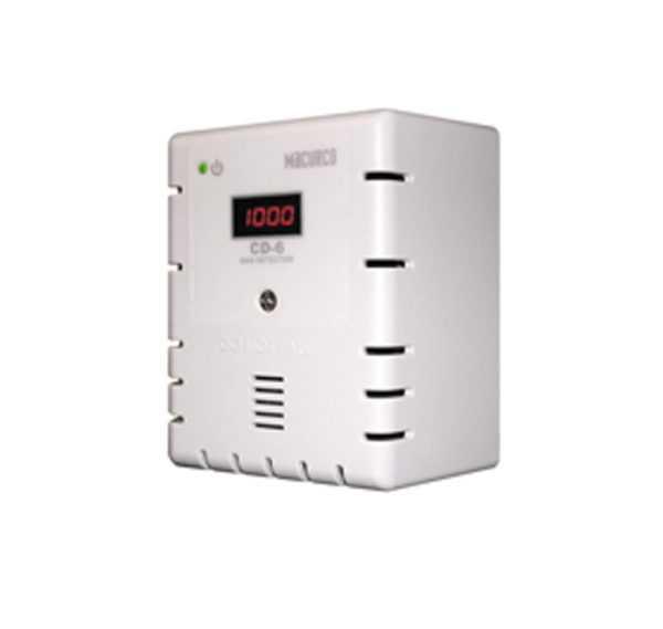 Detector de gás dióxido de carbono CD-6