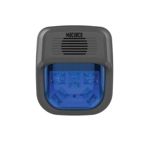 Detector de gases luminoso e sonoro - Horn & Strobe HS Series