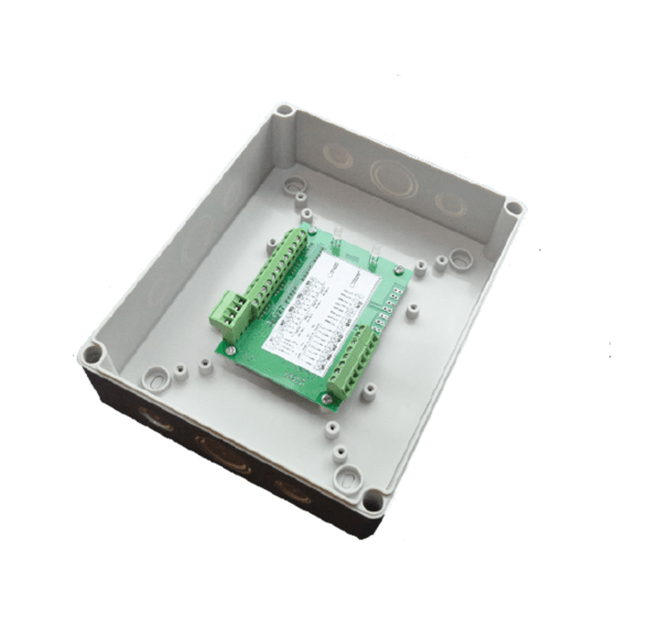 Módulos de parede para interface de dispositivos de alarme de incêndio FDX e FDM