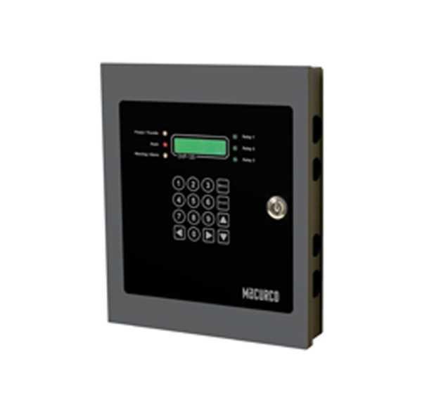Painel de controle de detector de gás DVP-120