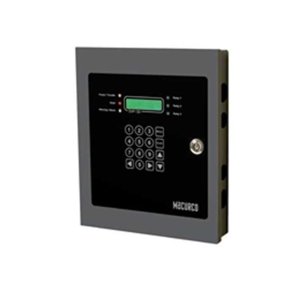 Painel de controle de detector de gás DVP-120M