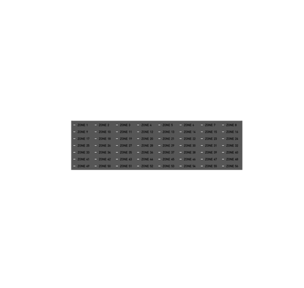 Placa LED para unidade de controle Teledata One – ONE 56