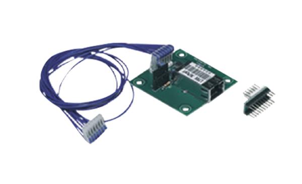 Placa de interface ethernet PTLAN para central de alarme de incêndio analógica