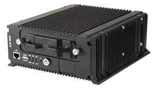 DS-MP7504 - GRAVADOR VEICULAR DVR MOBILE HDTVI - com capacidade para 4 canais