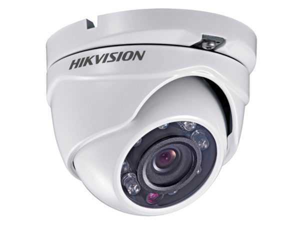 DS-2CE56C0T-IRM 3.6mm - Câmera Turret IR HD720P