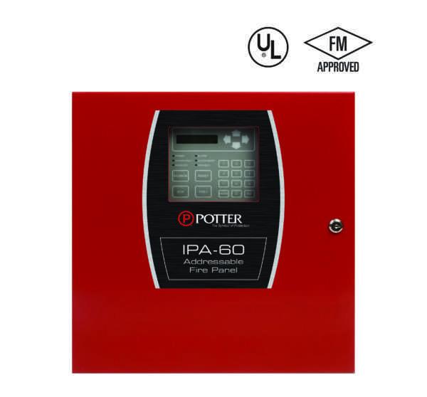 IPA-60 - Central de Alarme de Incêndio UL/FM