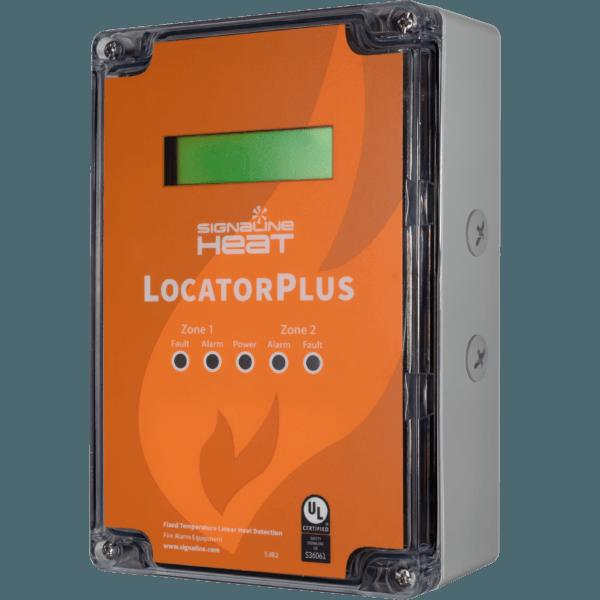 LocatorPlus - Controlador de temperatura fixa LHD e localizador de alarme