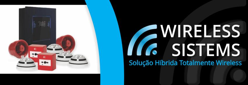 Sistema de Incêndio Wireless